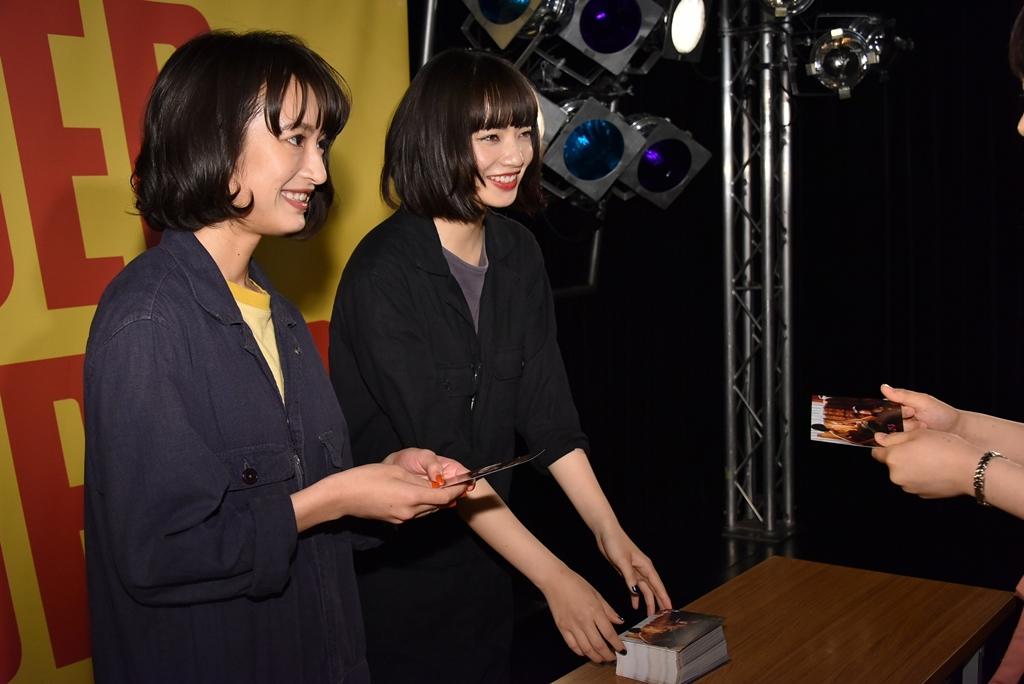 【写真】映画『さよならくちびる』公開直前イベント (小松菜奈、門脇麦)