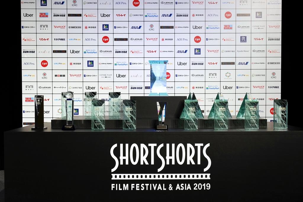 【写真】ショートショート フィルム フェステイバル & アジア 2019 (SSFF & ASIA2019) トロフィー