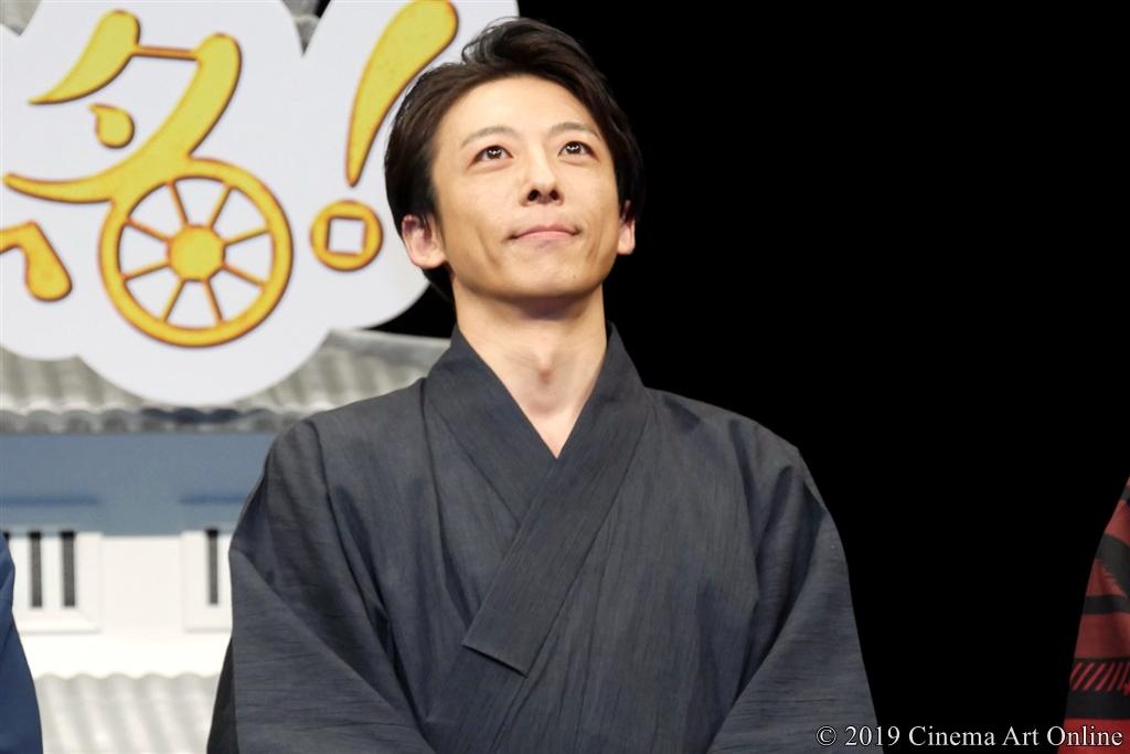 【写真】映画『引っ越し大名!』完成披露舞台挨拶 (高橋一生)