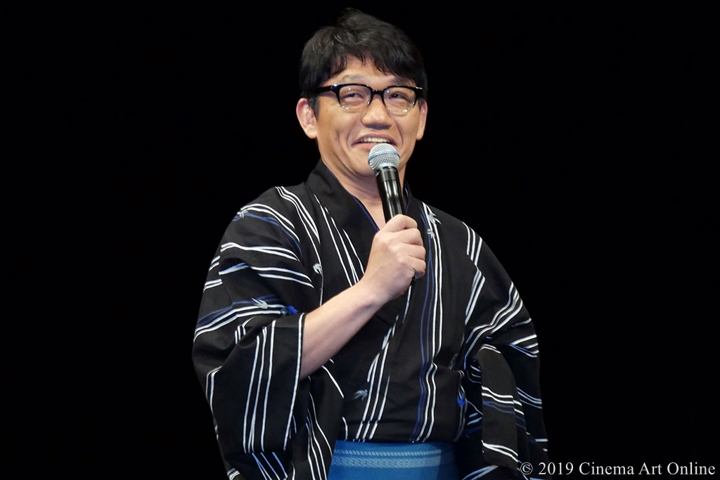 【写真】映画『引っ越し大名!』完成披露舞台挨拶 (飯尾和樹)