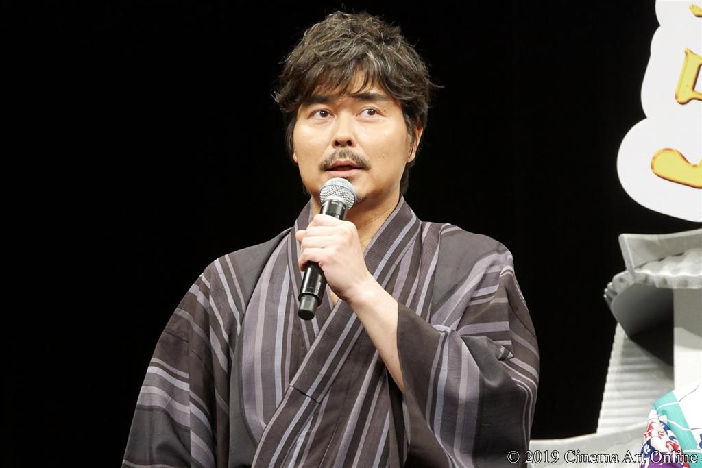 【写真】映画『引っ越し大名!』完成披露舞台挨拶 (小沢征悦)