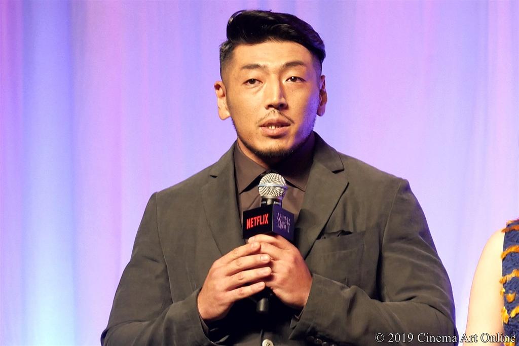 【写真】Netflixオリジナルシリーズ『全裸監督』ワールドプレミア (舞台挨拶/後藤剛範)