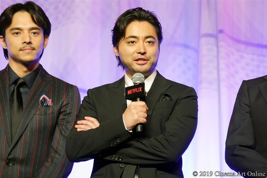 【写真】Netflixオリジナルシリーズ『全裸監督』ワールドプレミア (舞台挨拶/山田孝之)