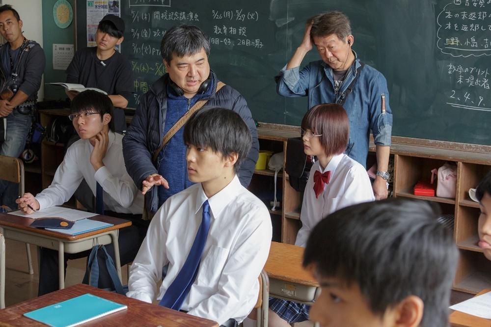 【画像】映画『惡の華』メイキングカット2