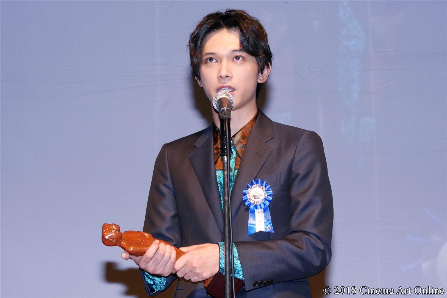 【写真】第10回 TAMA映画賞 授賞式 (吉沢亮)