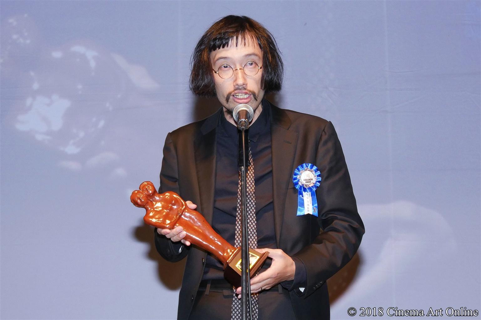 【写真】第10回 TAMA映画賞 授賞式 (今泉力哉監督)