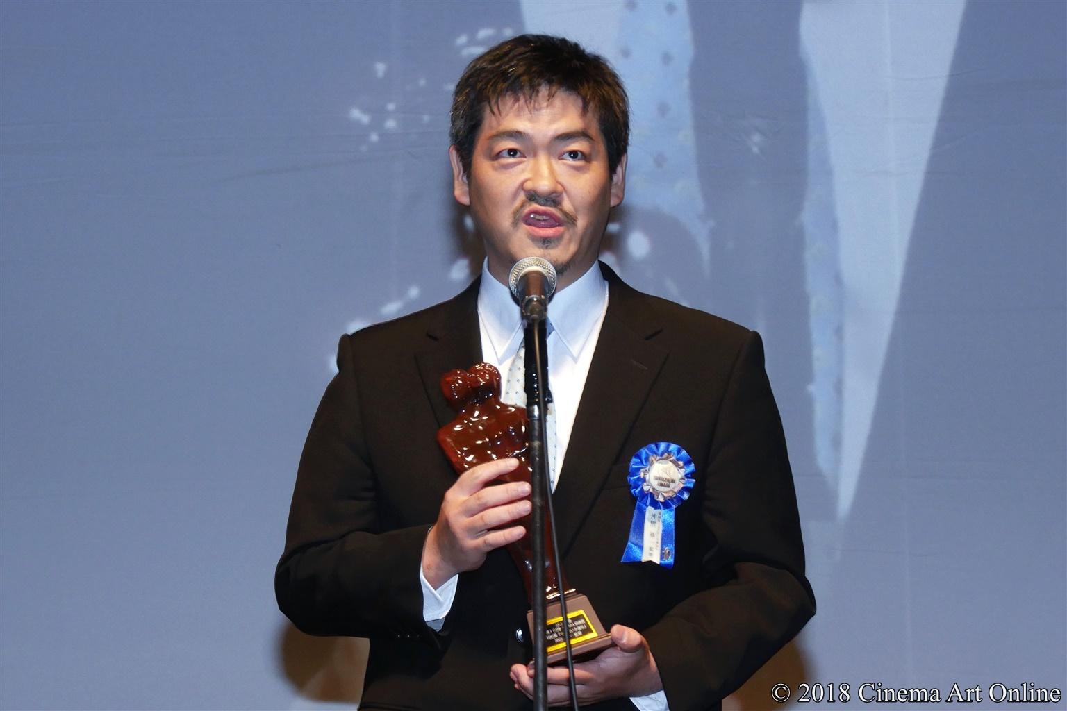 【写真】第10回 TAMA映画賞 授賞式 (沖田修一監督)