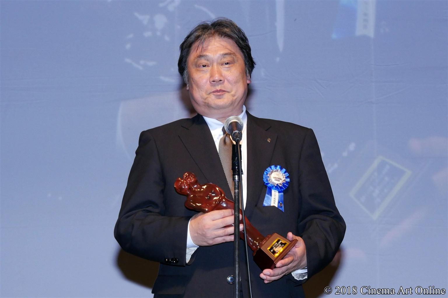 【写真】第10回 TAMA映画賞 授賞式 (福嶋更一郎エグゼクティブプロデューサー)