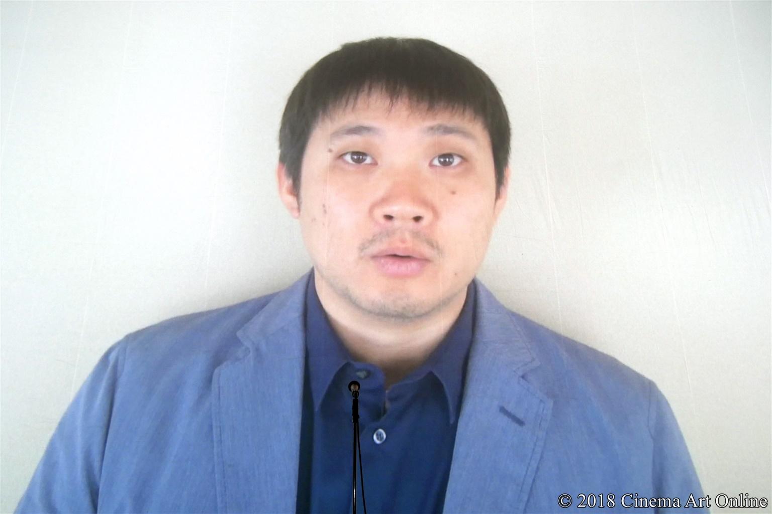 【写真】第10回 TAMA映画賞 授賞式 (濱口竜介監督)