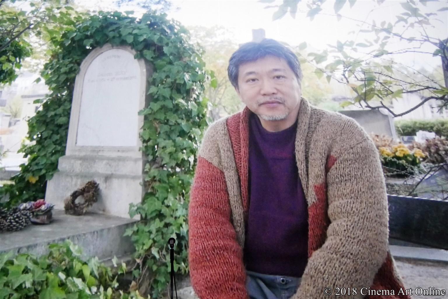 【写真】第10回 TAMA映画賞 授賞式 (是枝裕和監督)