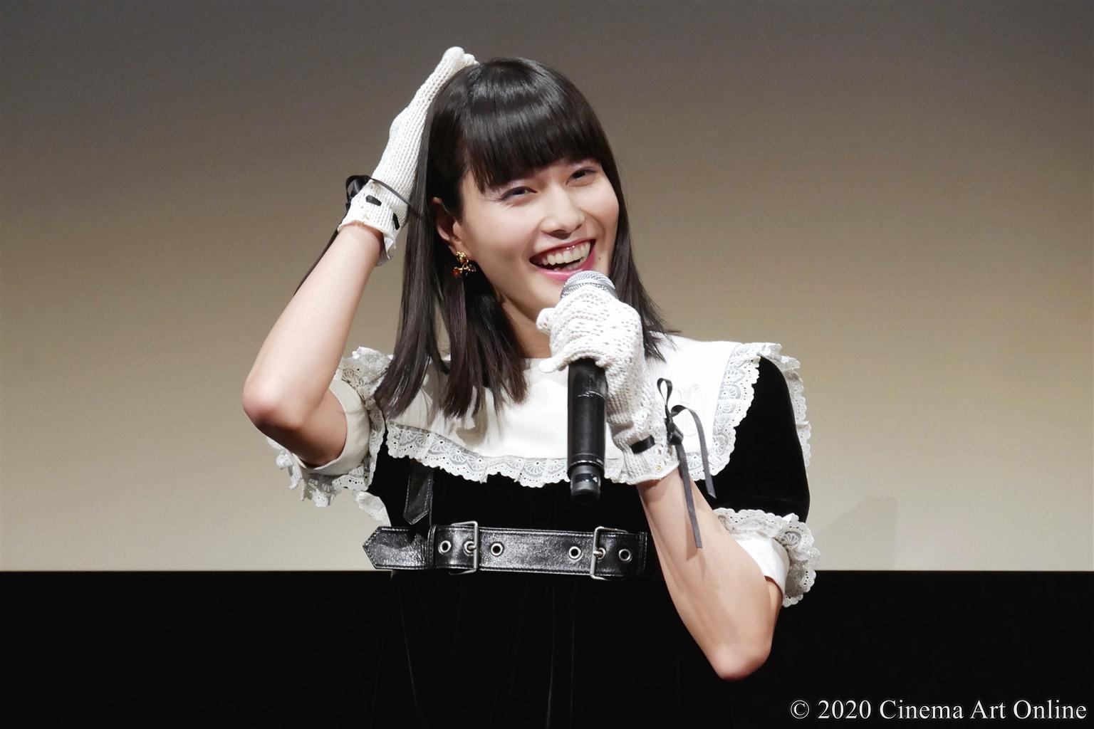 【写真】第33回 東京国際映画祭(TIFF) TOKYOプレミア2020部門 映画『私をくいとめて』舞台挨拶 (橋本愛)