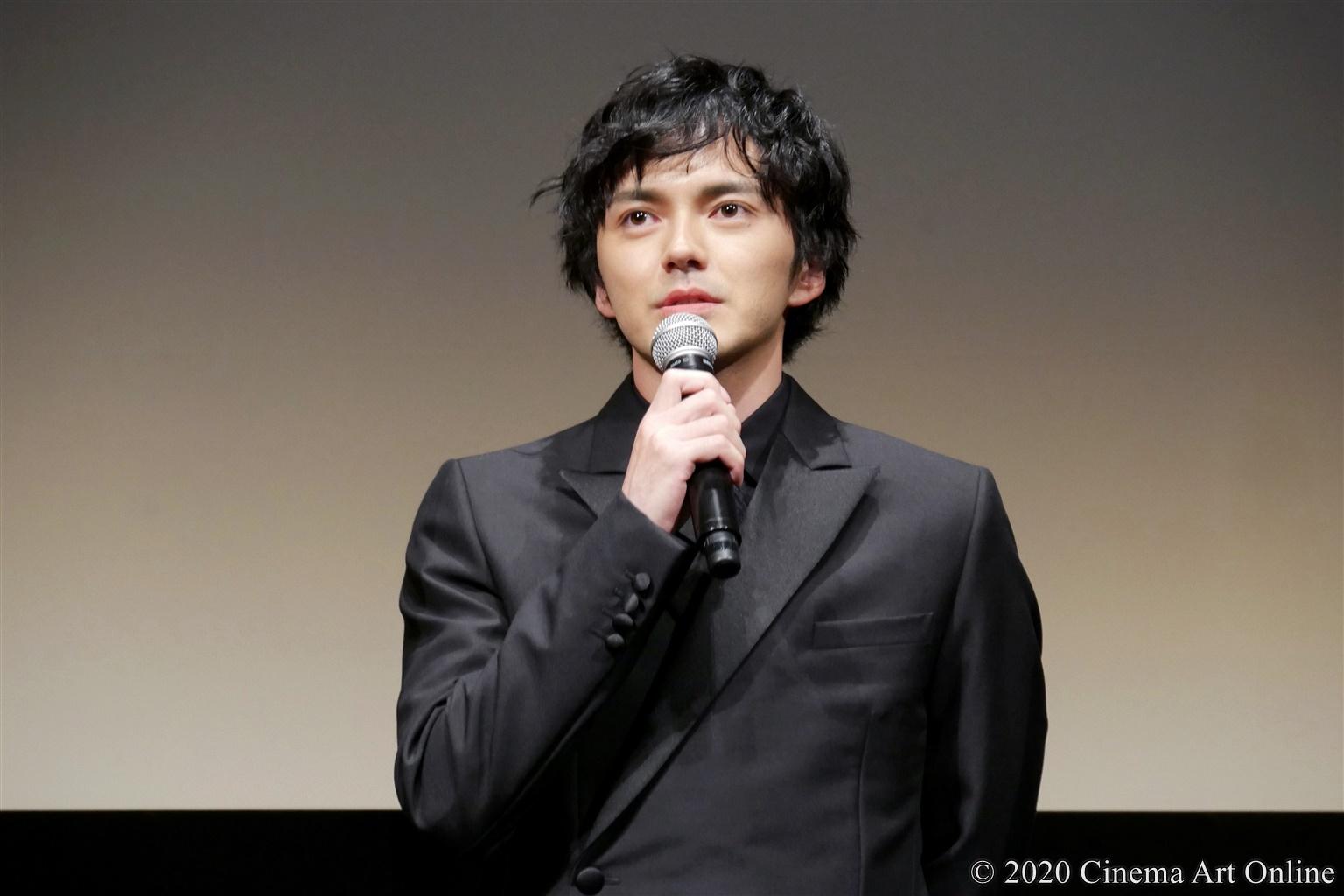 【写真】第33回 東京国際映画祭(TIFF) TOKYOプレミア2020部門 映画『私をくいとめて』舞台挨拶 (林遣都)