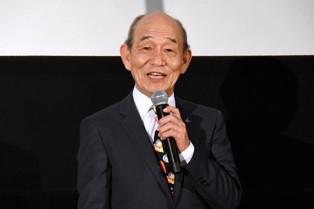【写真】映画『十二単衣を着た悪魔』 公開記念舞台挨拶 (笹野高史)