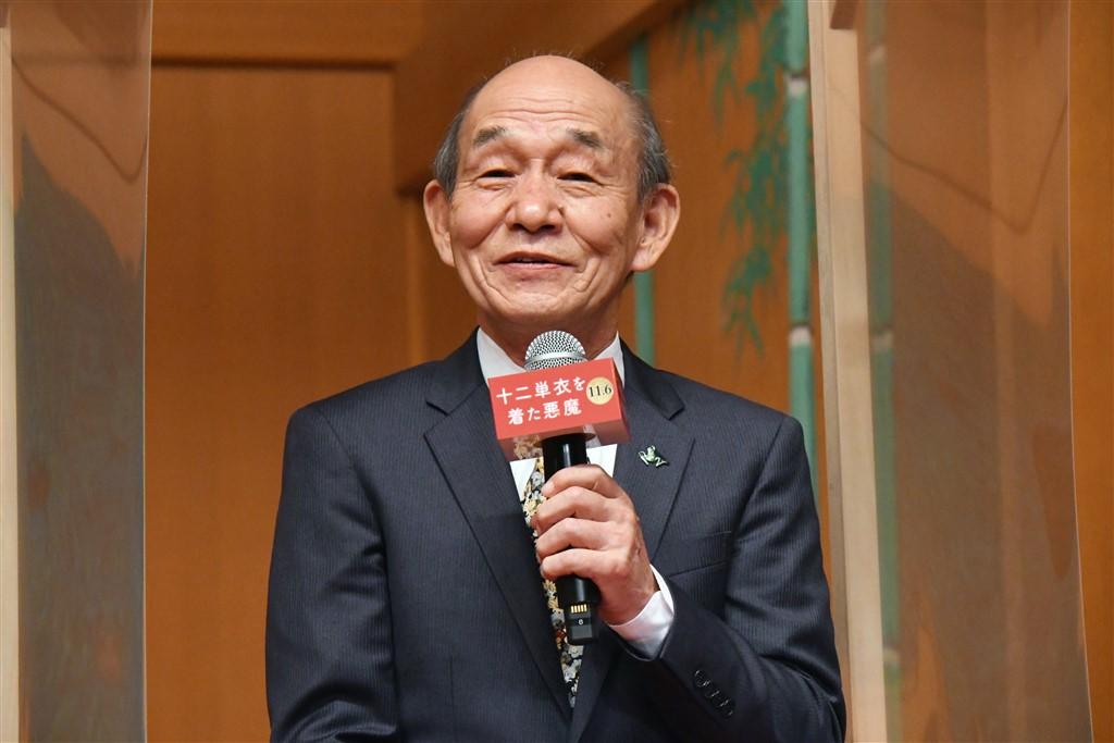 【写真】映画『十二単衣を着た悪魔』完成披露報告会 (笹野高史)