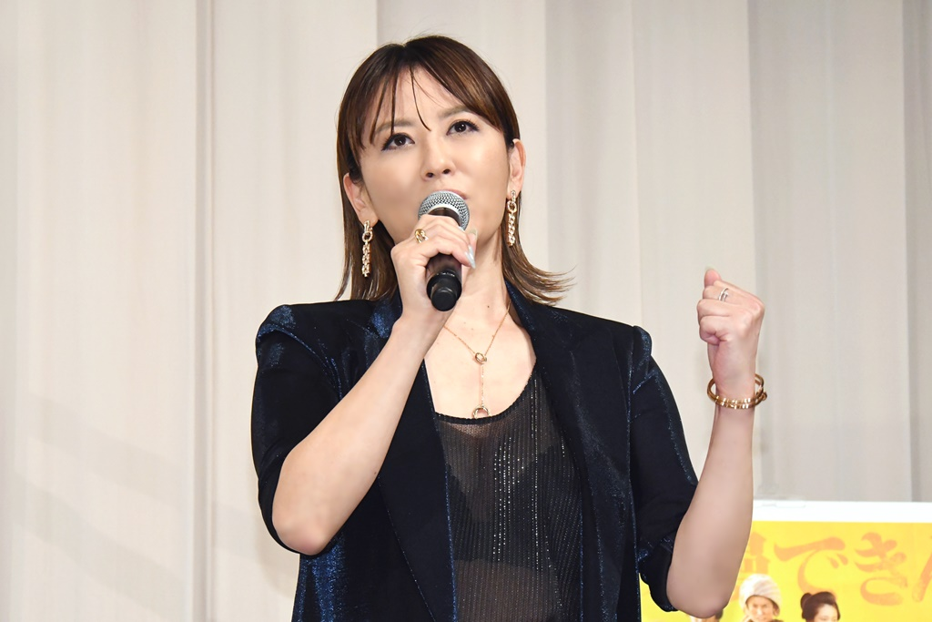 【写真】映画『大コメ騒動』公開御礼イベント (鈴木砂羽)