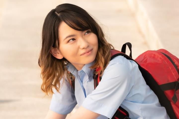 【画像】映画『名も無き世界のエンドロール』場面カット (山田杏奈)