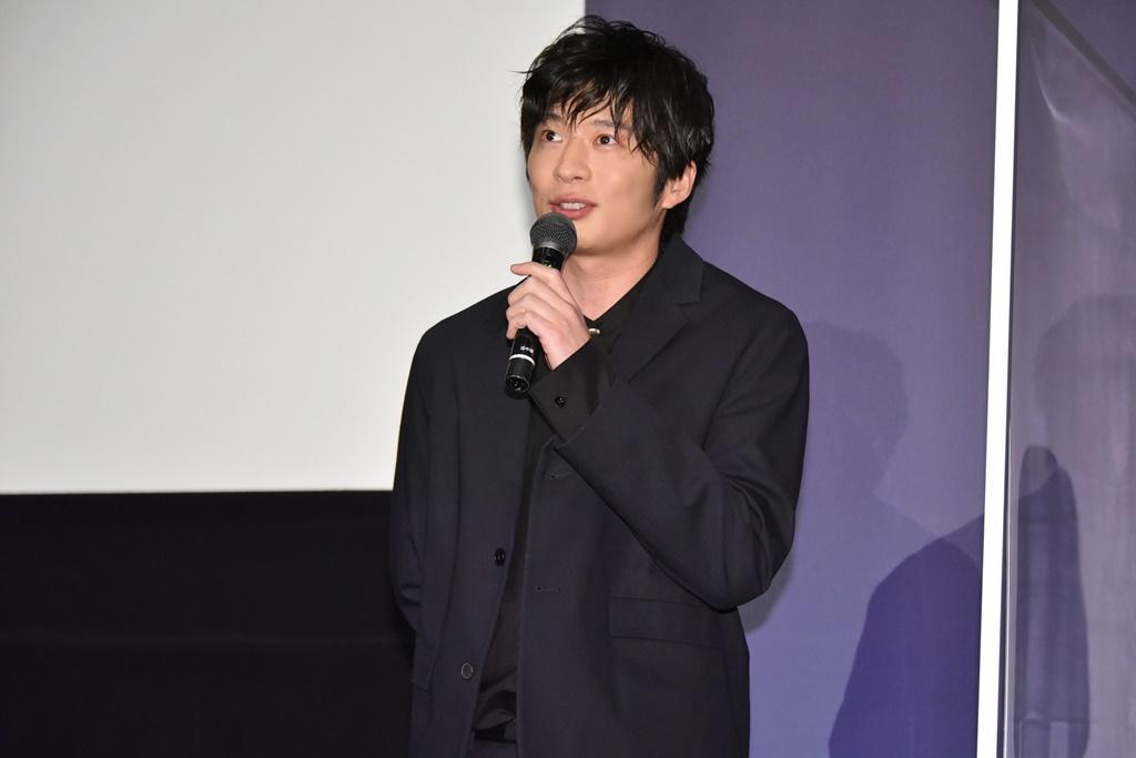 【写真】映画『哀愁しんでれら』公開初日舞台挨拶 (田中圭)