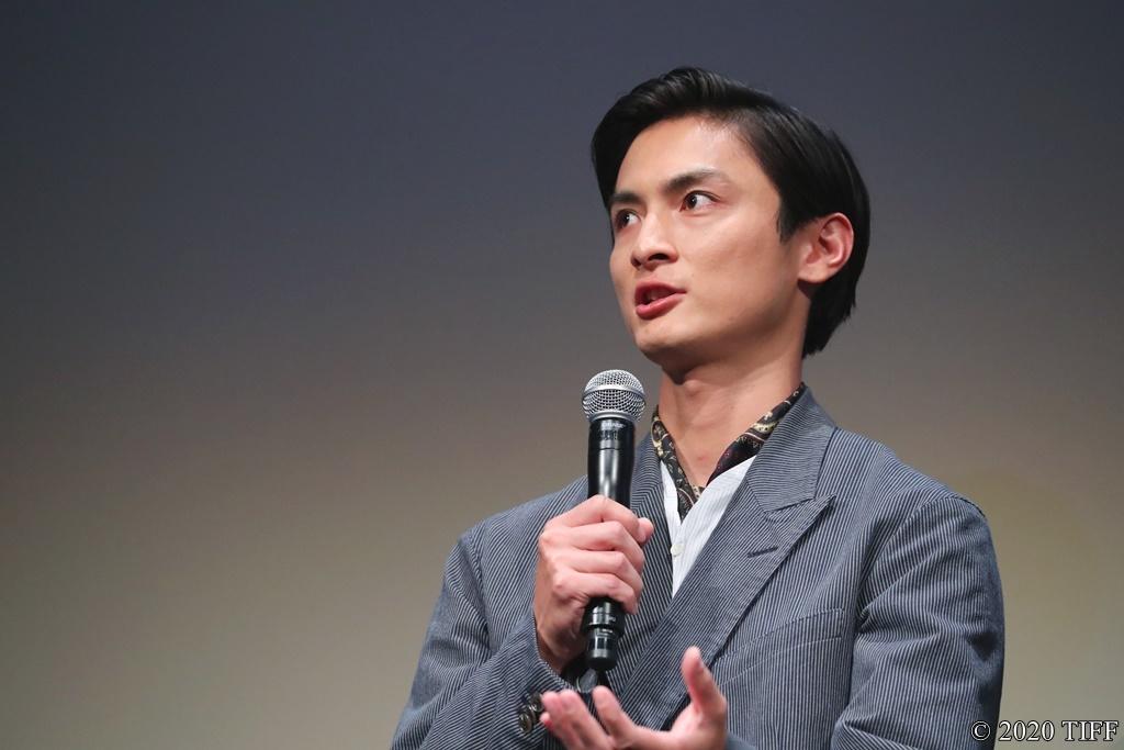 【写真】第33回 東京国際映画祭(TIFF) 特別招待作品部門 映画『あのこは貴族』舞台挨拶 (高良健吾)