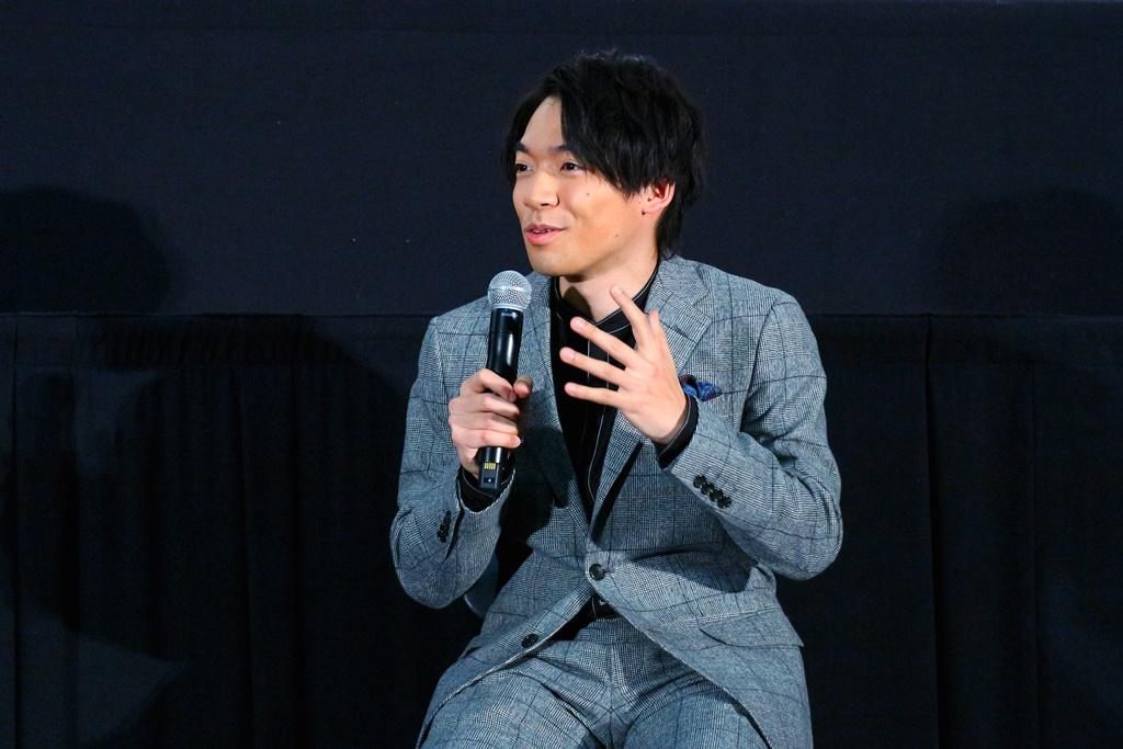 【写真】映画『さんかく窓の外側は夜』ティーチイン付き上映会 (伊沢拓司)