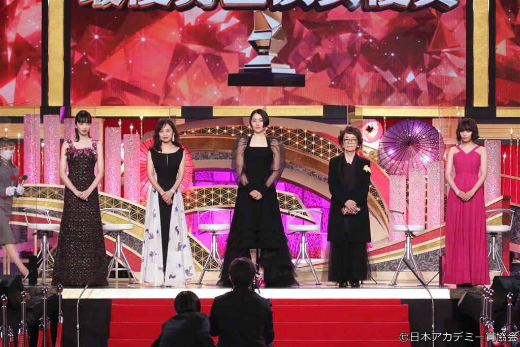 【写真】第44回 日本アカデミー賞 授賞式 優秀主演女優賞