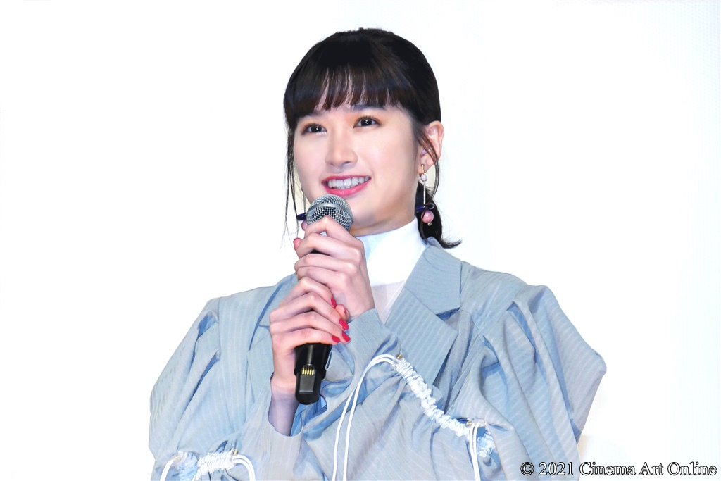 【写真】映画『NO CALL NO LIFE』公開記念舞台挨拶 (小西桜子)