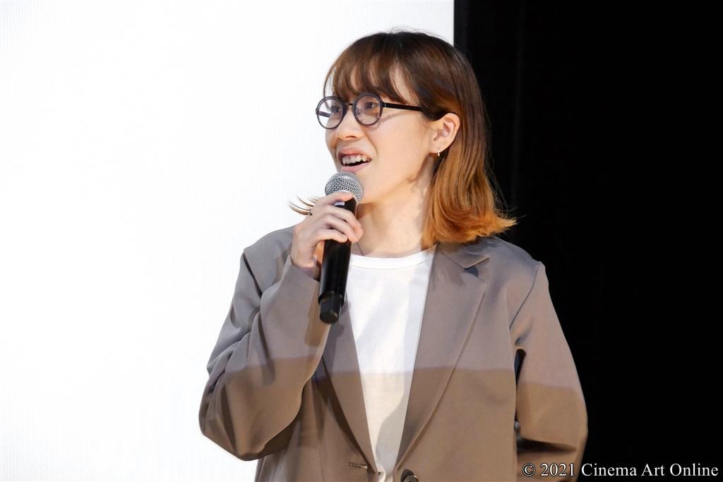 【写真】映画『NO CALL NO LIFE』公開記念舞台挨拶 (井樫彩監督)