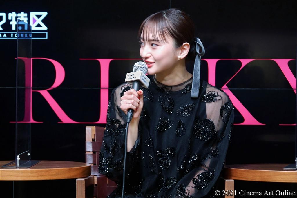 【写真】ドラマ「RISKY」1話先行試写・完成披露トークイベント (萩原みのり)