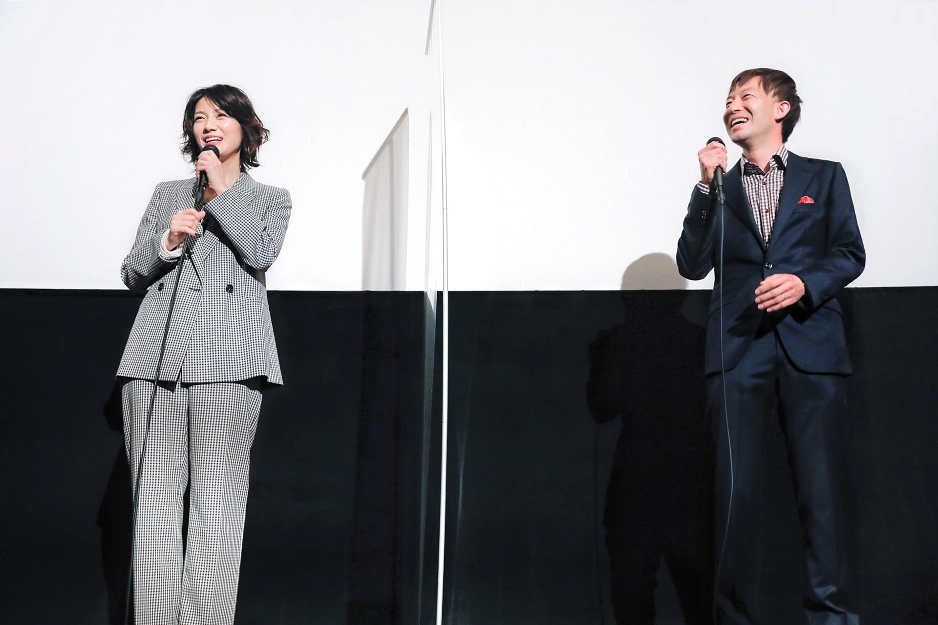 【写真】映画『裏アカ』公開記念舞台挨拶 (瀧内公美、加藤監督)