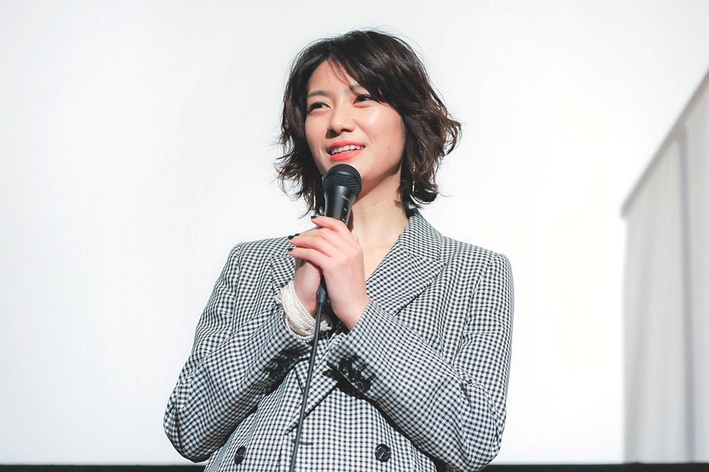 【写真】映画『裏アカ』公開記念舞台挨拶 (瀧内公美)