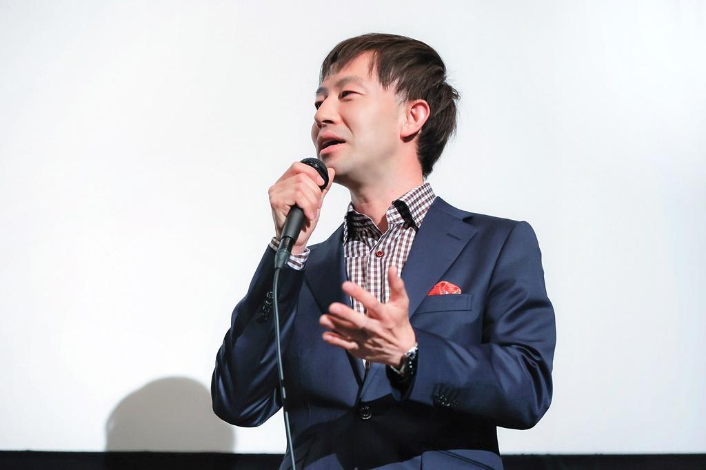【写真】映画『裏アカ』公開記念舞台挨拶 (加藤監督)