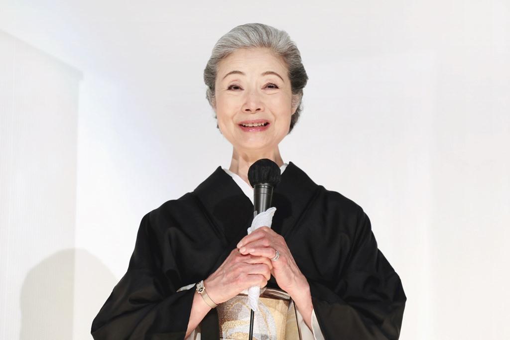 【写真】映画『椿の庭』公開初日舞台挨拶 (富司純子)