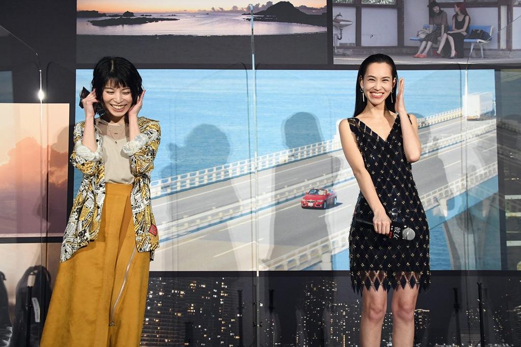【写真】Netflix映画『彼女』配信直前イベント (水原希子、さとうほなみ)