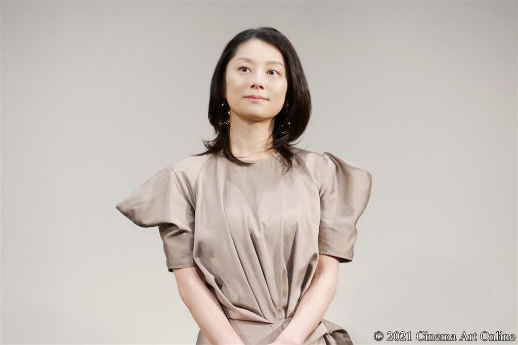 【写真】映画『いのちの停車場』完成披露試写会 舞台挨拶 (小池栄子)