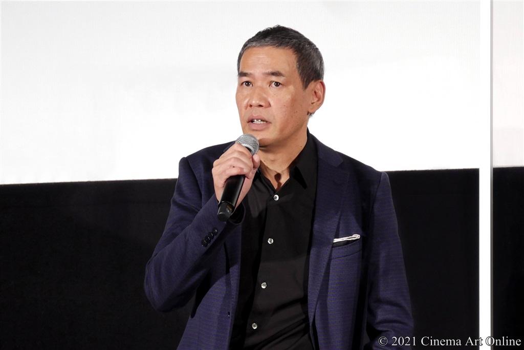 【写真】映画『砕け散るところを見せてあげる』公開記念舞台挨拶 (SABU監督)