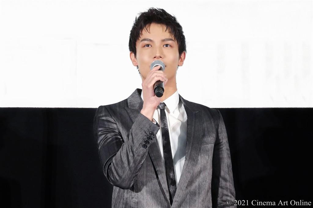 【写真】映画『砕け散るところを見せてあげる』公開記念舞台挨拶 (中川大志)