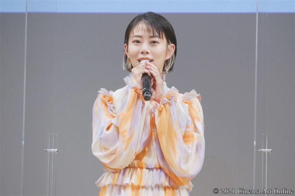 【写真】映画『明日の食卓』完成報告会 (⾼畑充希)