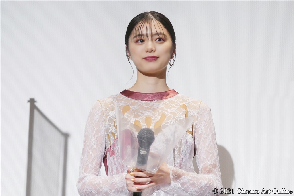 【写真】映画『藍に響け』公開記念舞台挨拶 (紺野彩夏)