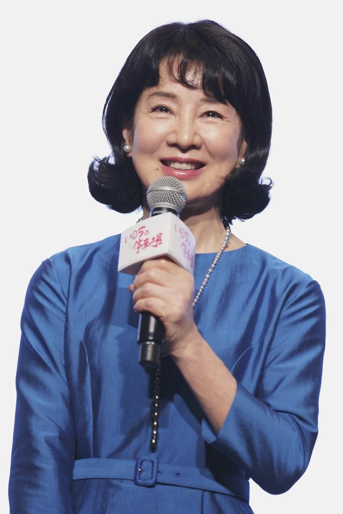 【写真】映画『いのちの停車場』公開記念舞台挨拶 (吉永小百合)