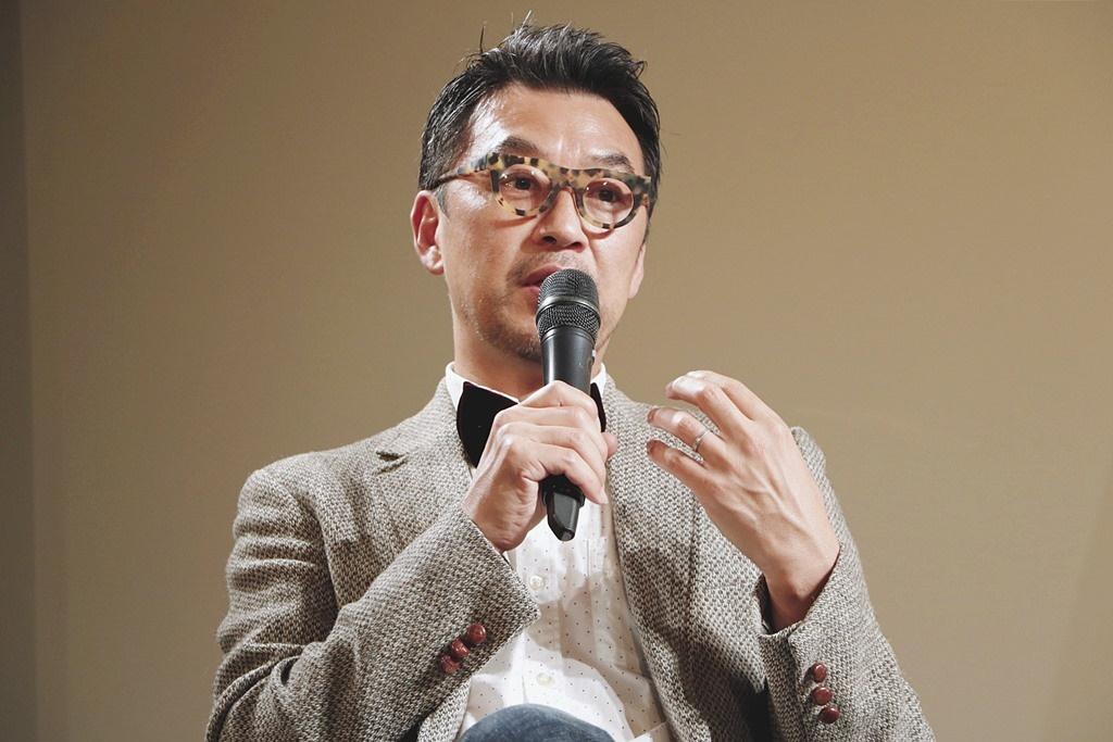 【写真】映画『トゥルーノース』トークイベント (清水ハン栄治監督)