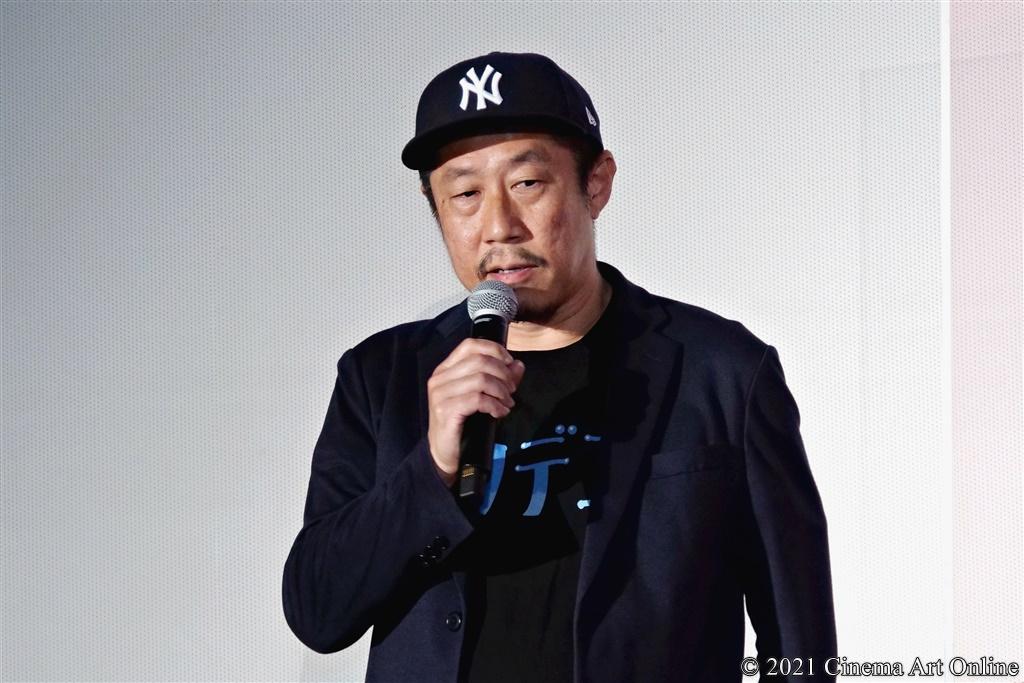 【写真】映画『ザ・ファブル 殺さない殺し屋』公開初日舞台挨拶 (江口カン監督)