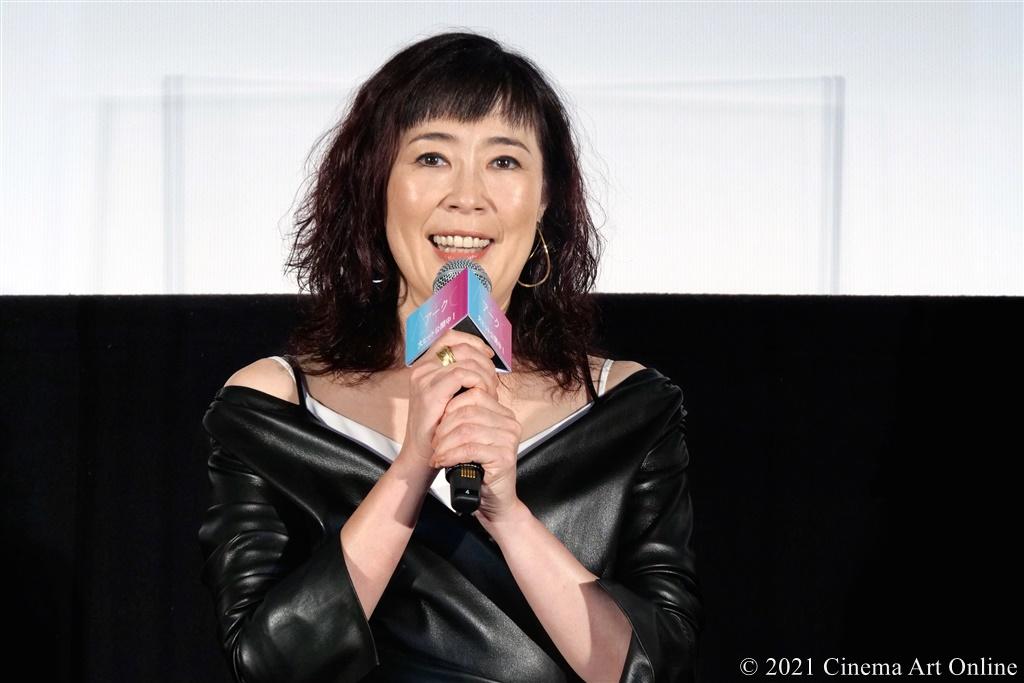 【写真】映画『Arc アーク』公開初日舞台挨拶 (寺島しのぶ)