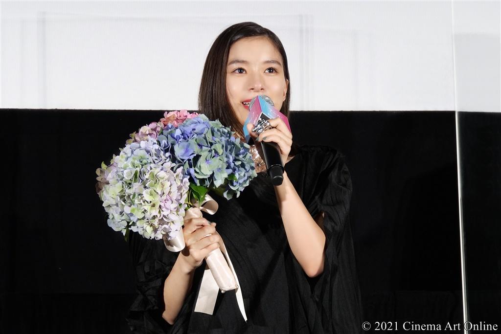 【写真】映画『Arc アーク』公開初日舞台挨拶 (芳根京子)