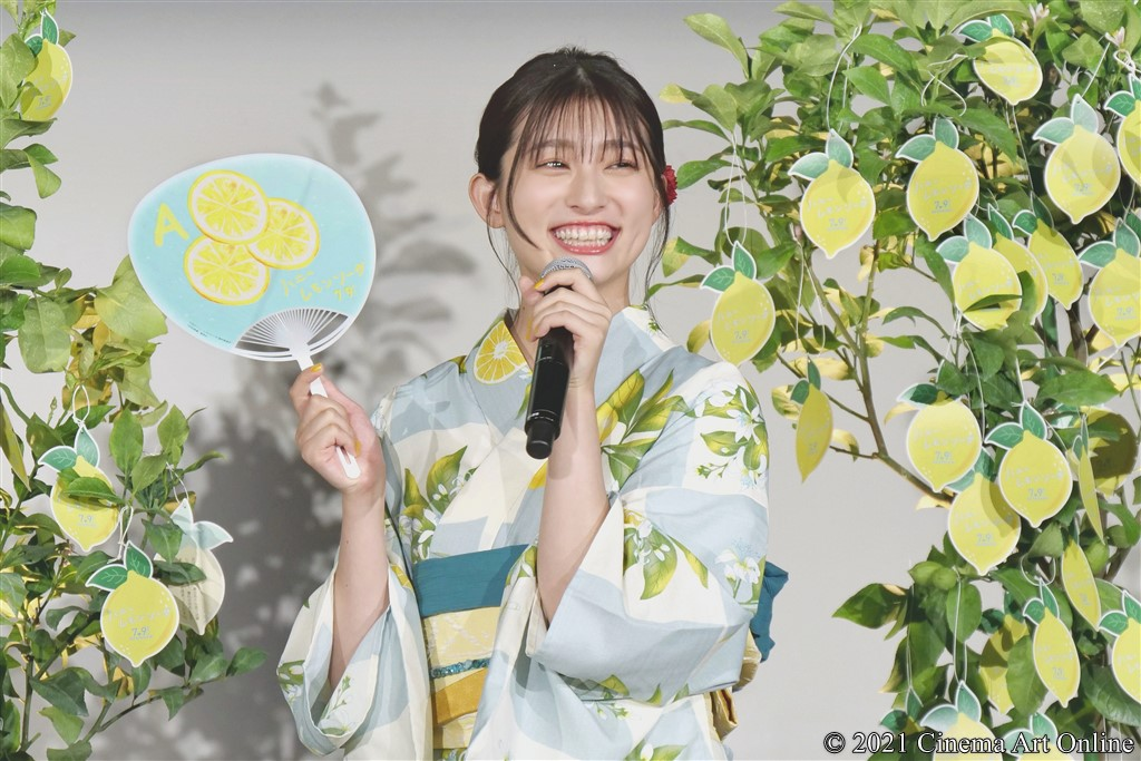 【写真】映画『ハニーレモンソーダ』「ハニレモ」しゅわきゅん♡大ヒット祈願!夏祭りイベント (吉川愛)
