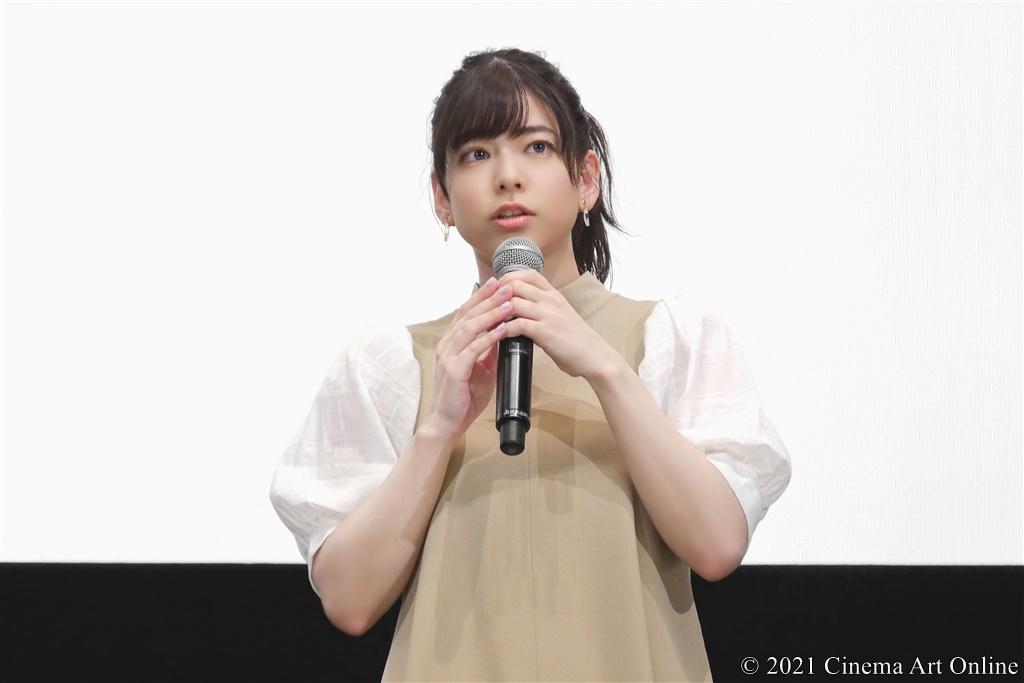 【写真】『映画 さよなら私のクラマー ファーストタッチ』完成記念イベント (島袋美由利)