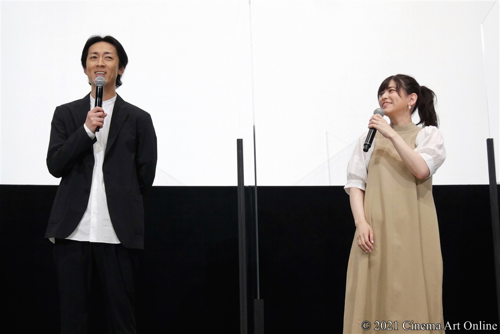 【写真】『映画 さよなら私のクラマー ファーストタッチ』完成記念イベント (矢部浩之、島袋美由利)
