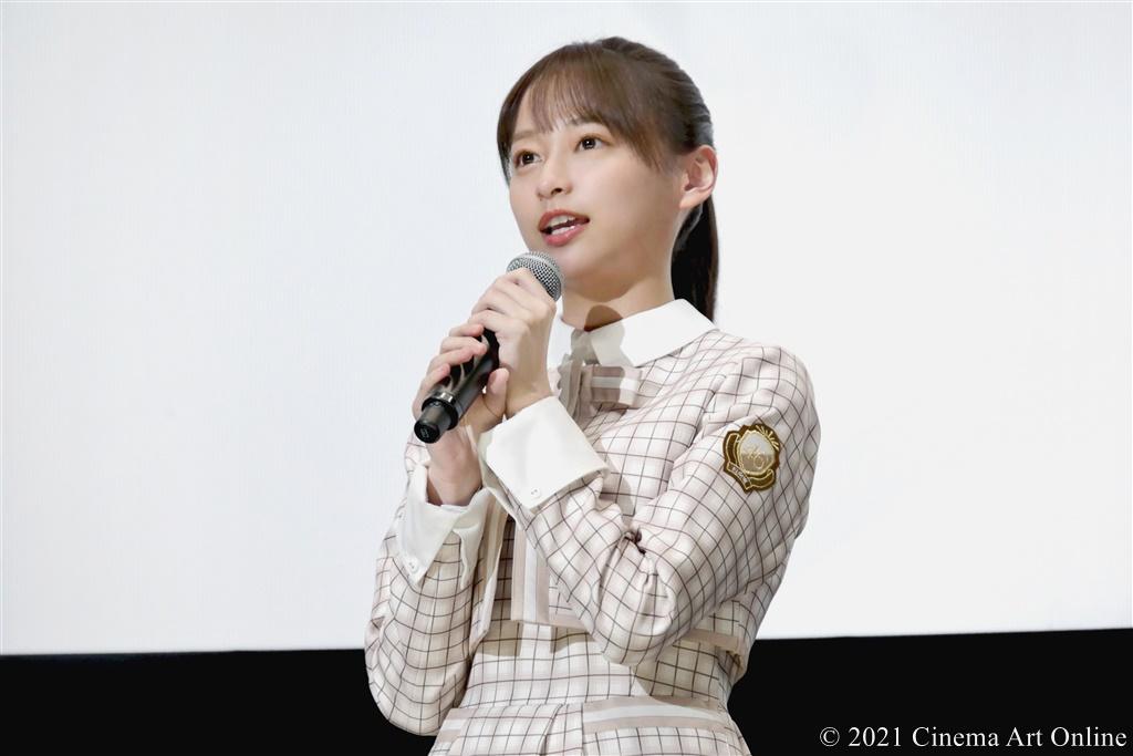 【写真】『映画 さよなら私のクラマー ファーストタッチ』完成記念イベント (影山優佳/日向坂46)