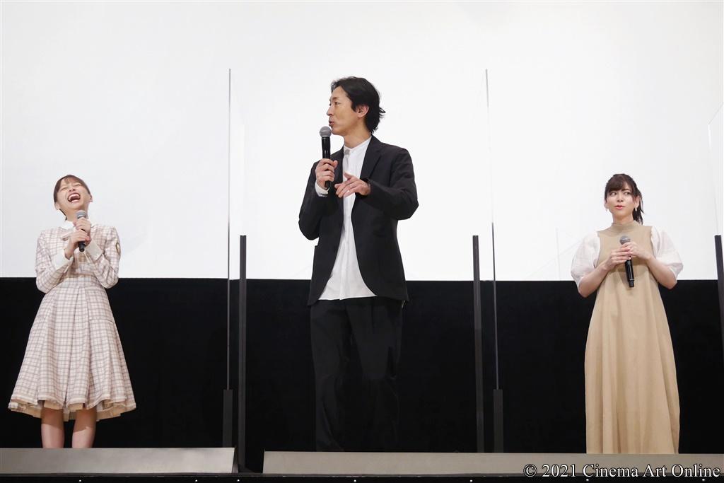【写真】『映画 さよなら私のクラマー ファーストタッチ』完成記念イベント (影山優佳、矢部浩之、島袋美由利)