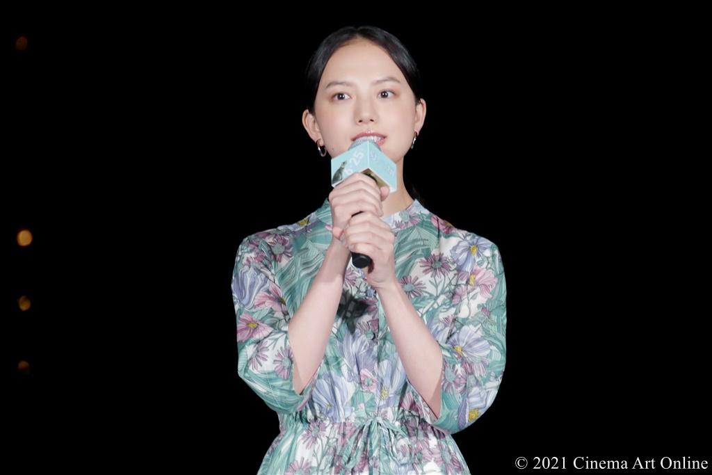 【写真】映画『夏への扉 ーキミのいる未来へー』公開記念イベント (清原果耶)