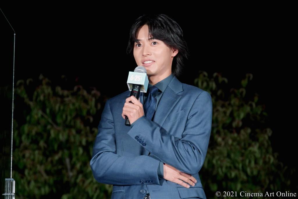 【写真】映画『夏への扉 ーキミのいる未来へー』公開記念イベント (山﨑賢人)