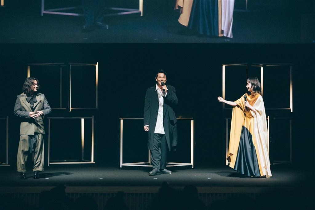【写真】ショートショートフィルムフェスティバル&アジア2021 (SSFF & ASIA 2021) オープニングセレモニー (山田孝之、別所哲也、剛力彩芽)